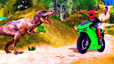 Bike racing dino adventure 3D free download APK