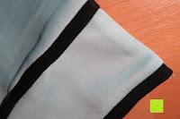Ärmel: MODETREND Damen Kleider mit Bogen 1/2-Arm Etui Elastisch Tulpenkleid Wort Schulter Partykleider Bleistiftrock Abendkleid Casualkleider