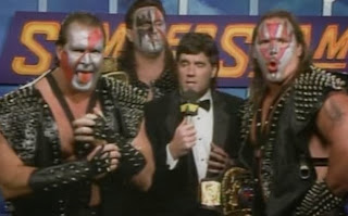 WWF / WWE - SUMMERSLAM 1990: Demoltion three-man team ft. Ax, Smash and Crush