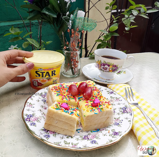STAR Margarine Fairy Bread by Woman In Digital