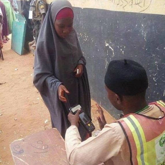 Underage female voter spotted in Sokoto