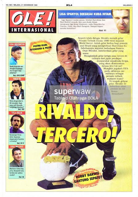 BARCELONA RIVALDO TERCERO