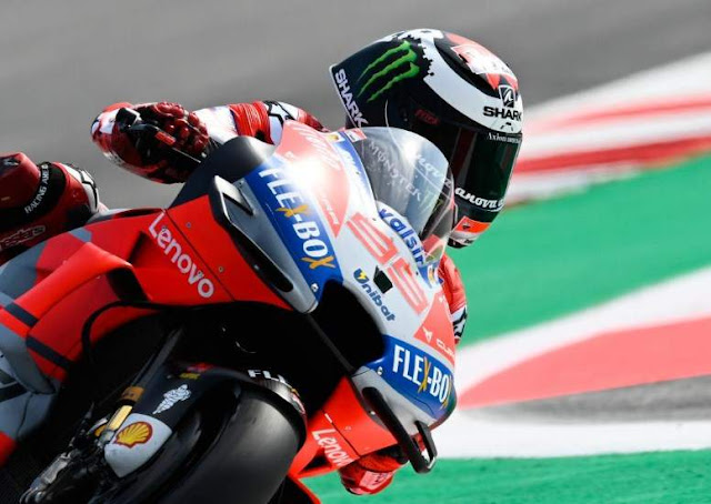 Jorge Lorenzo Pole Position MotoGP Misano 2018