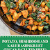 Potato, Mushroom and Kale Hash Skillet (Vegan & Gluten Free)