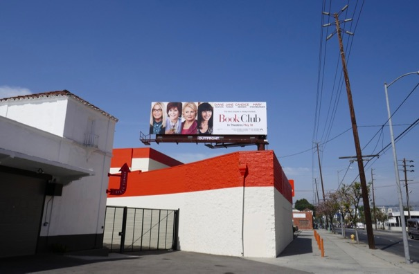 Book Club film billboard