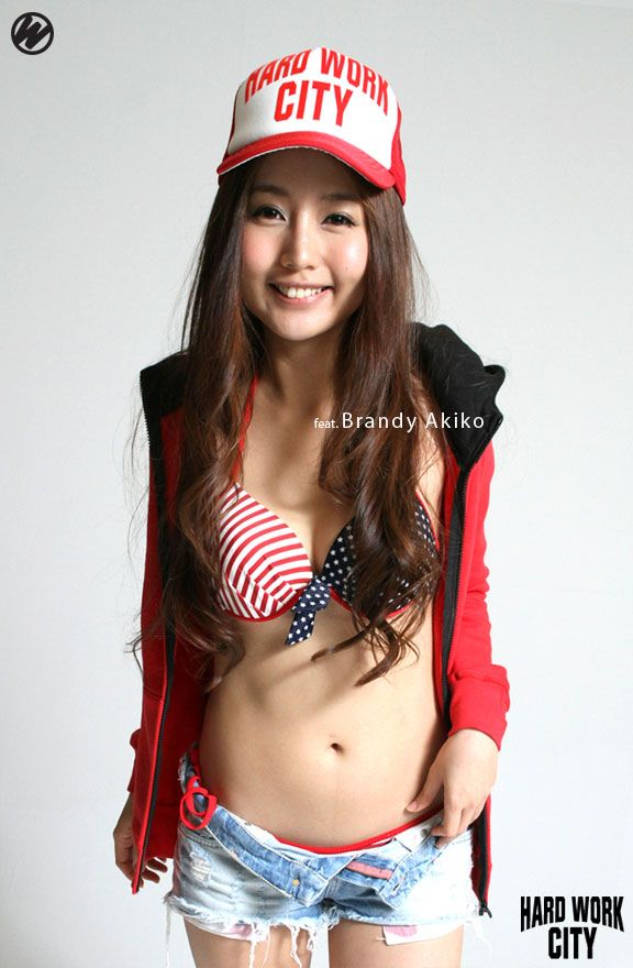 Asian babe public
