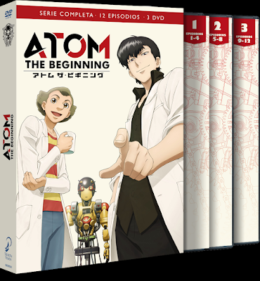 ATOM THE BEGINNING. Episodios 1 a 12