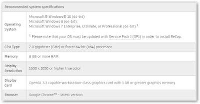 تحميل برنامج Autodesk ReCap Pro 2020 أوتو ديسك