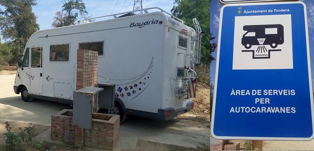 Àrea de serveis d'autocaravanes de Tordera