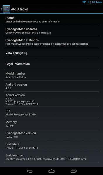 Putting CyanogenMod on the Kindle Fire · sunpech blog