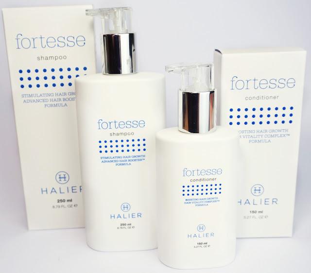 Halier - Fortesse Haarpflege - für dünnes, langsam wachsendes Haar