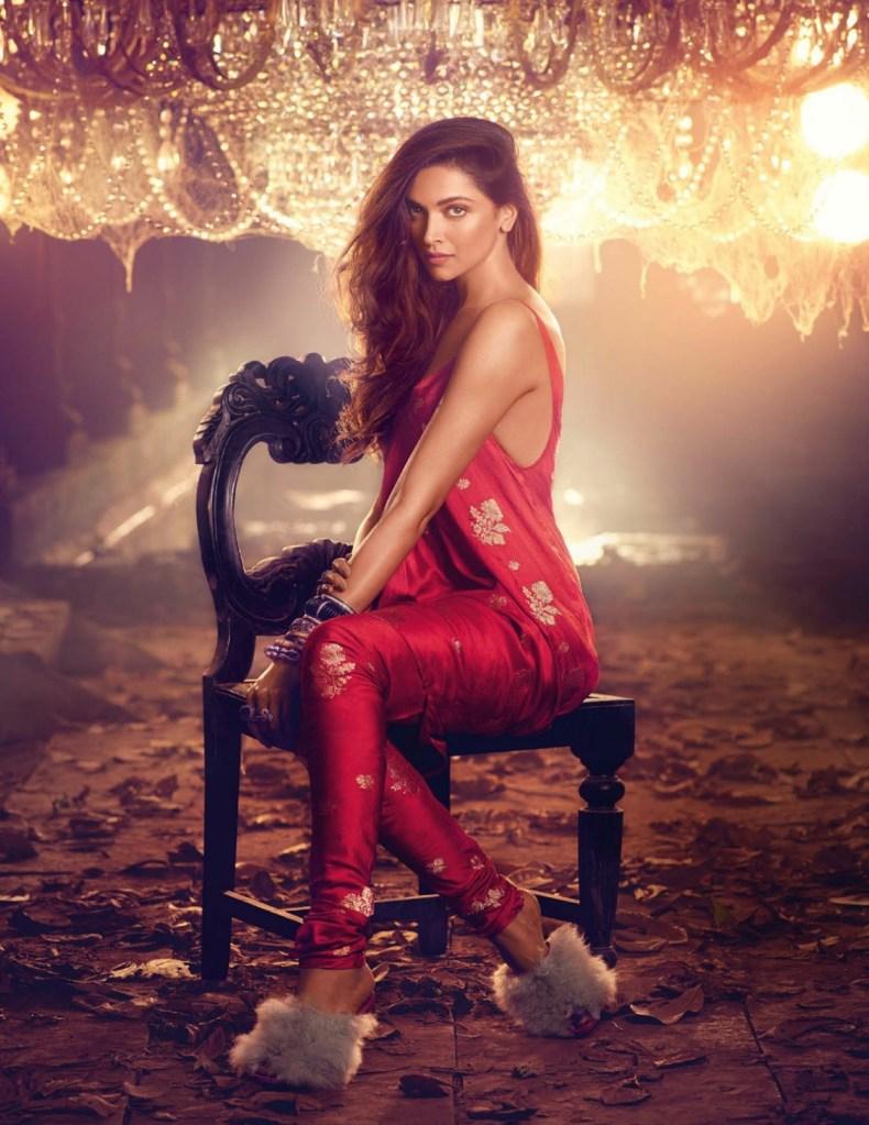 Deepika Padukone on Vogue India Magazine Cover November 2016 Issue 03