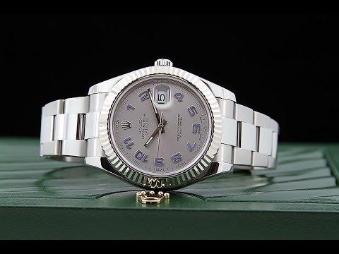 Revue: Replique Montres Rolex Datejust II Silver Hommes 116334SAO