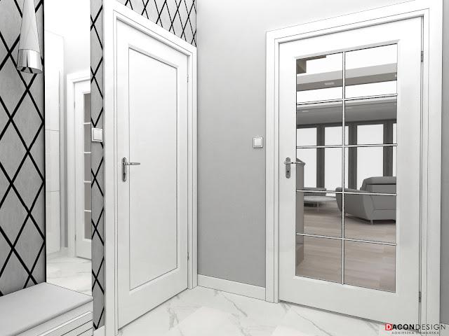 dacon-design-architekt-aranżacjawnętrzWrocław-projektowaniewnętrzWrocław-przedpokój-marmur-tapeta