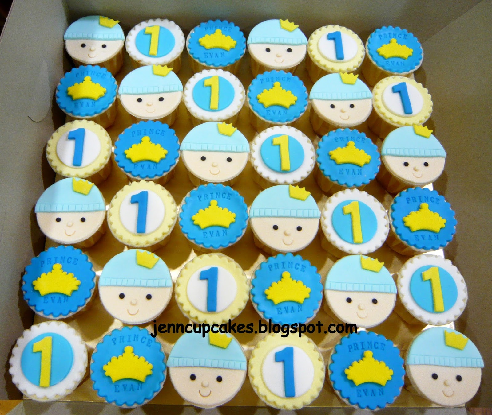 Jenn Cupcakes Muffins Prince Theme