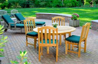 Types of garden furniture, wood furniture for garden