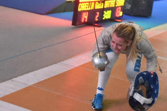 Foggia Fencing 2019. Campionati Europei Giovanili. Due medaglie nel palmarès azzurro. La foggiana Carella conquista il bronzo