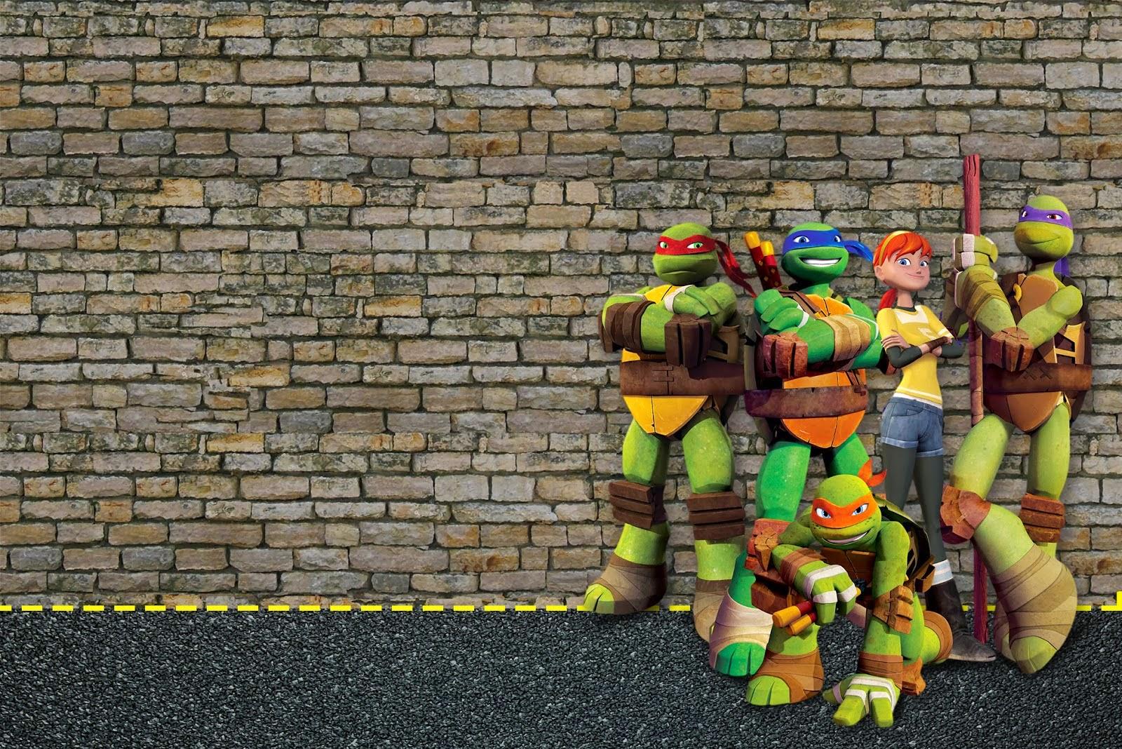 Tortugas Ninja Invitaciones E Imprimibles Gratis Para Fiestas