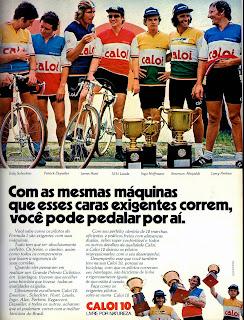 propaganda Bicicletas Caloi - 1977