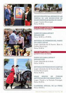 Feria de la Primavera y Fiesta del Vino Fino 2017 - Programa de Actos 04
