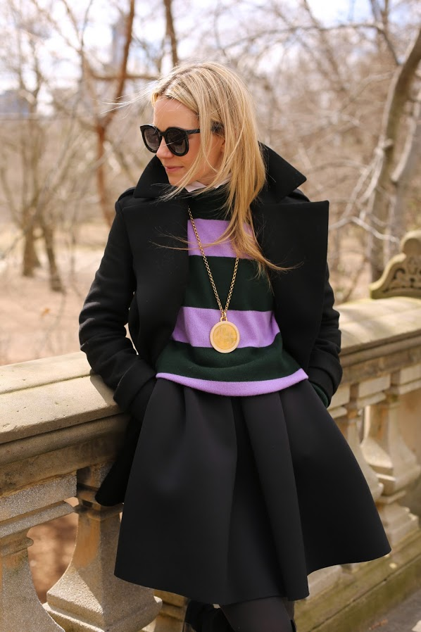 Style Icon: Blair Eadie of Atlantic Pacific - A Walk in Central Park