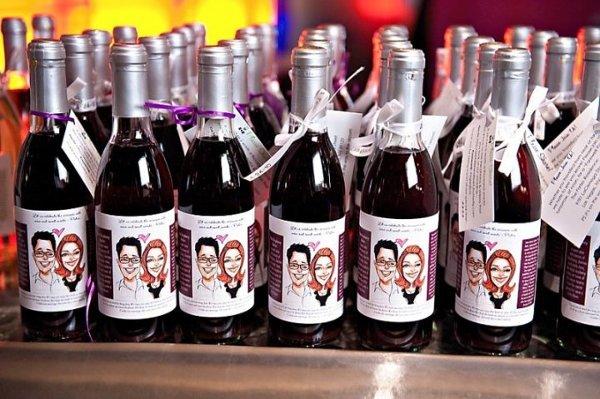 .: Bottle Wedding Favors