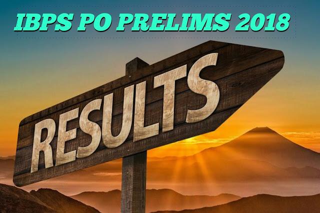 IBPS PO Prelims 2018 Score Card: IBPS PO Prelims 2018 score card released check result here