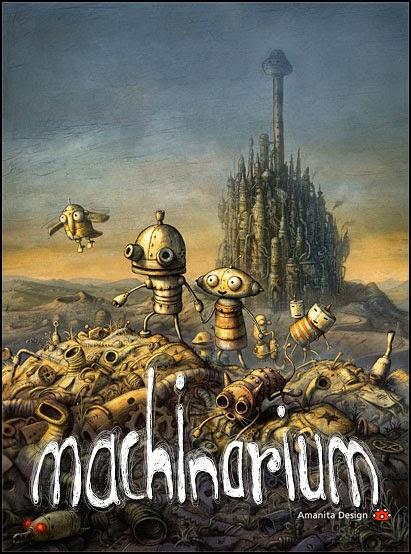 Machinarium, indie steampunk adventure