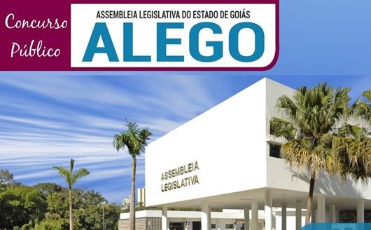 Concurso ALEGO - Apostilas  Assembleia Legislativa de Goiás
