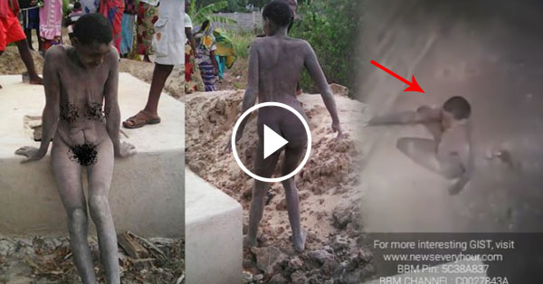 Shocking: Girl survive and rescued after Boyfriend Locked her for 8 Months in a Pit