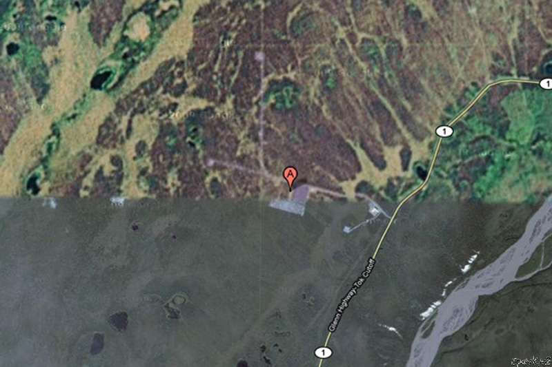 Places That Are Suspisciously Blurred Out On Google Maps - Google maps alaska