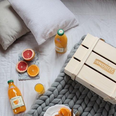 Soczyste śniadanie- pełnoziarniste placuszki z pomarańczami