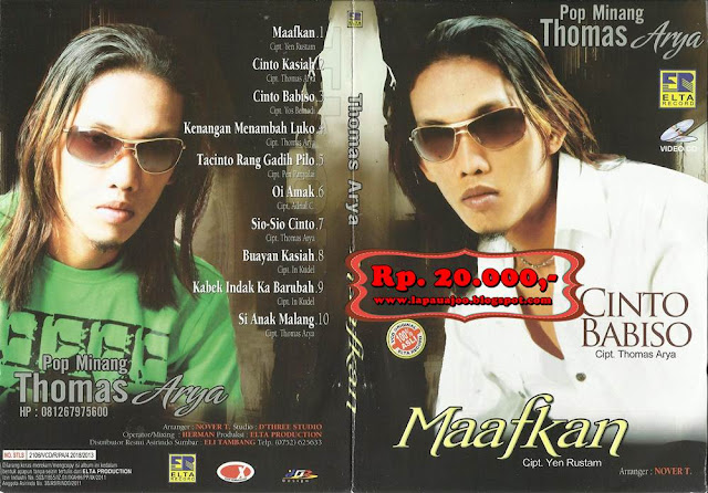 Thomas Arya - Maafkan (Album Pop Minang)