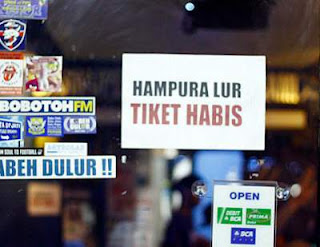 Berantas Calo, Penjualan Tiket Persib Harus Online
