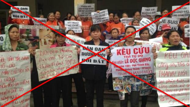 """""""Thủ lĩnh dân oan Dương Nội """" bị bắt vì gây rối trật tự"""