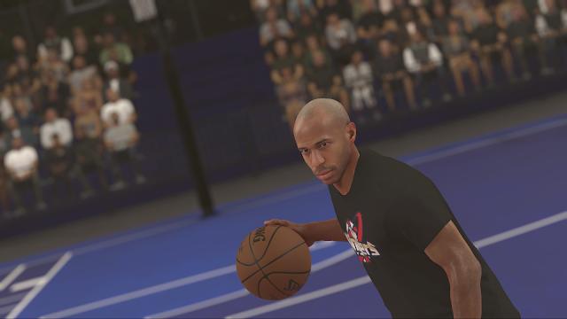 Thierry Henry aparecerá en NBA 2K17 y será jugable