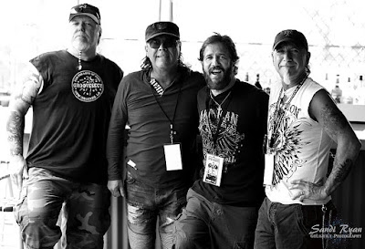 TT Quick... 2017 at the Rock For Dystrophy. Erock... Walt... Dave & Mark. How fuckin' cool is this photo!!!