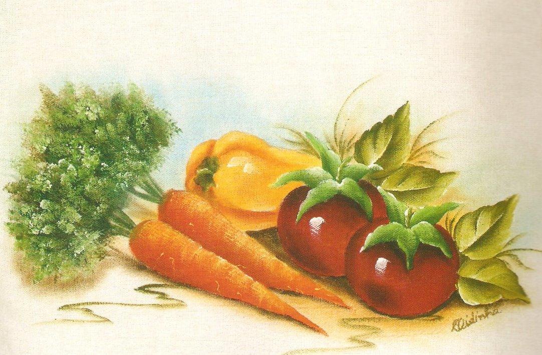 Verduras e legumes on Pinterest | Laminas Para Decoupage ...