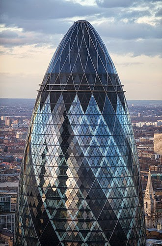 The Gherkin London.