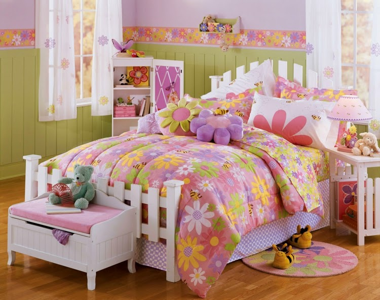 habitación juvenil para chica