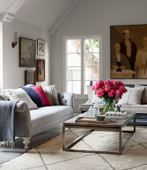 Mix And Chic: Home Tour- Corbin Bersen And Amanda Pays