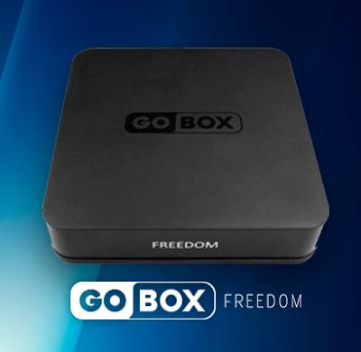GOBOX FREEDOM DEMONSTRAÇÃO DO NOVO MENU EM TESTES - 30/05/2018