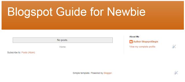 Step 9 : Tampilan Home Page