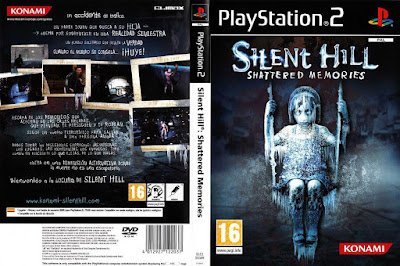 Jogo Silent Hill Shattered Memories PS2 DVD Capa
