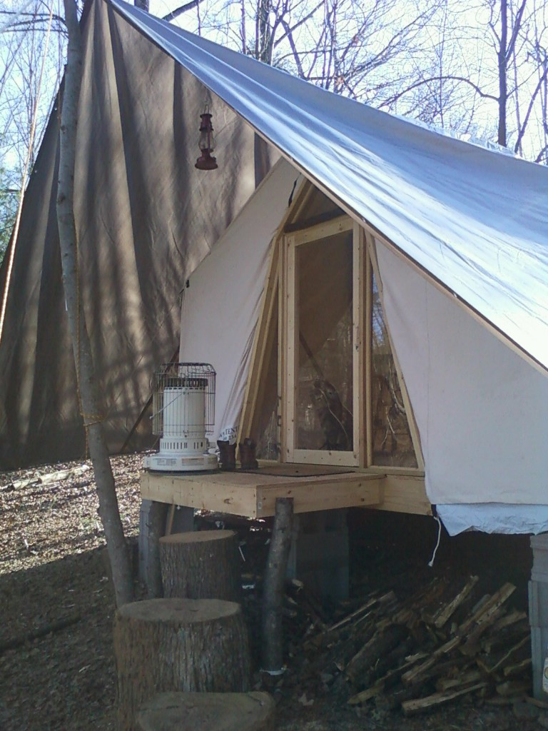 Tent platform    anyone done/doing it? - Small Cabin Forum