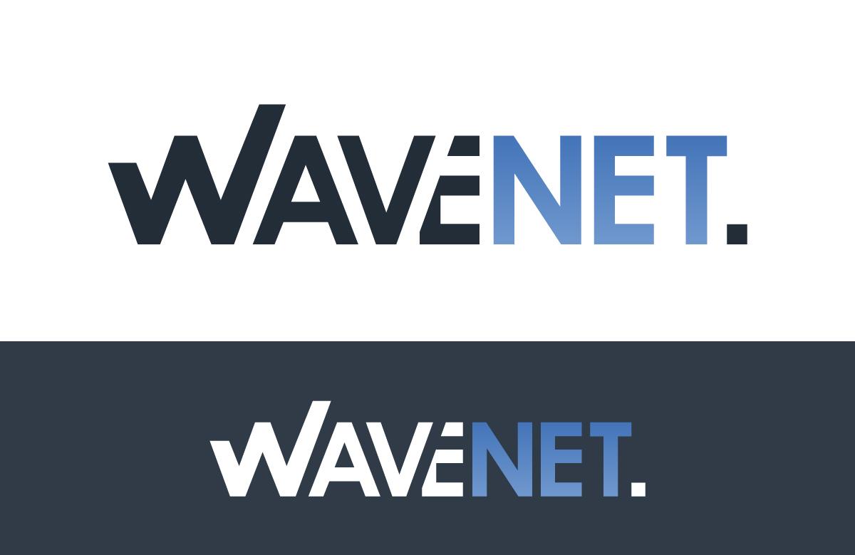 Création logo Wavenet, services en ingénierie informatique