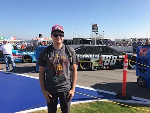 Dale Jr. Texas Motor Speedway