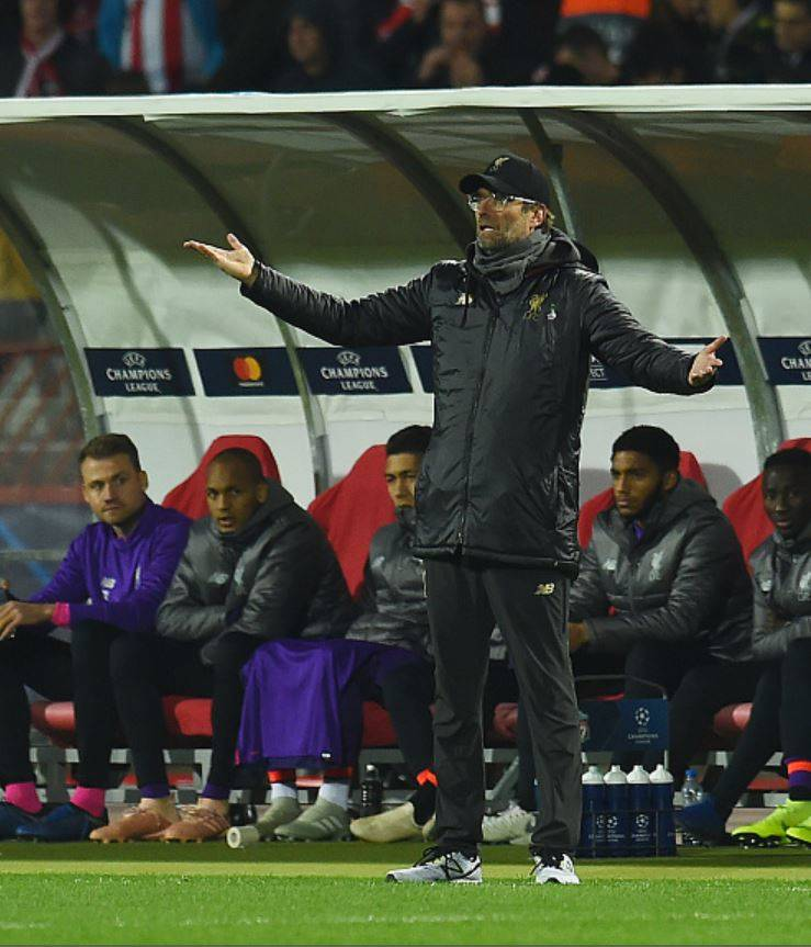 Klopp-on-touchline-Red-Star-vs-Liverpool