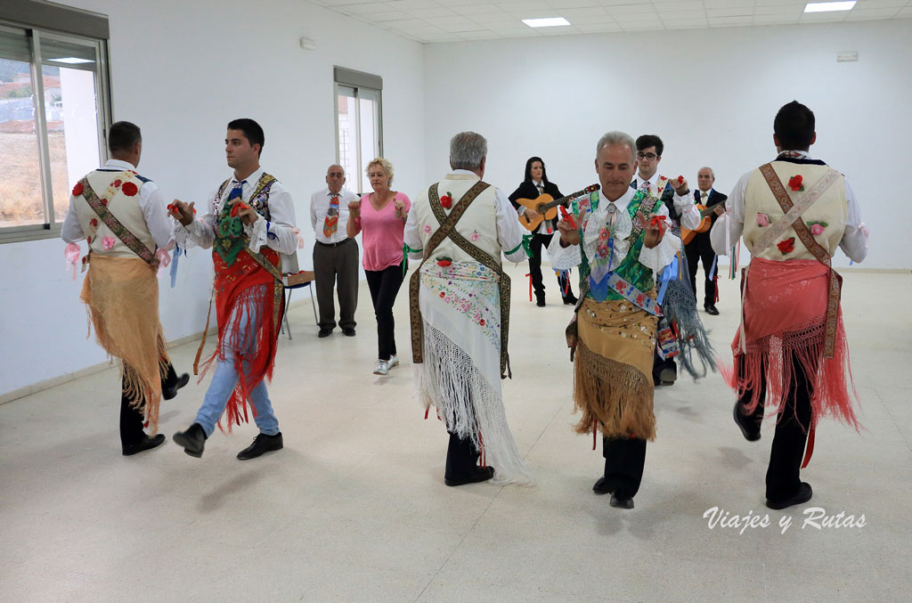 Danzantes de San Antón, peloche, La Siberia, Badajoz