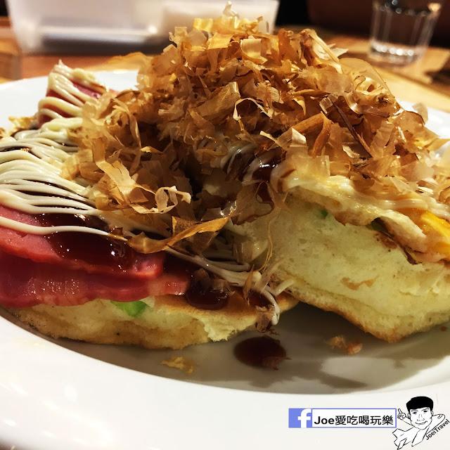 IMG 0309 - 【台中甜點】jamling Cafe 台中 - 來自東京鬆鬆軟軟入口即化的鬆餅 貓王鬆餅 吃起來有花生的甜 培根的鹹 ~一整個超級特別!!